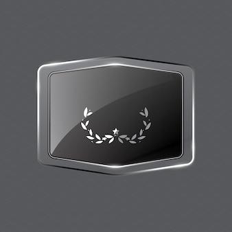 Créer un badge cristallin sur fond grunge