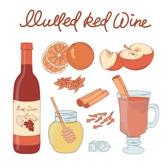 Créer du vin mulled