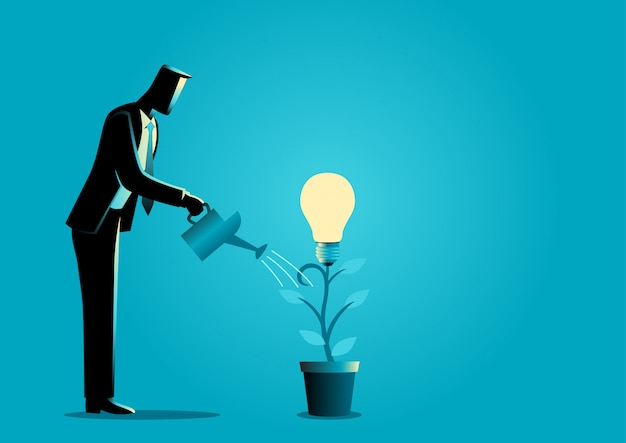 Créer des idées à partir d'une plante