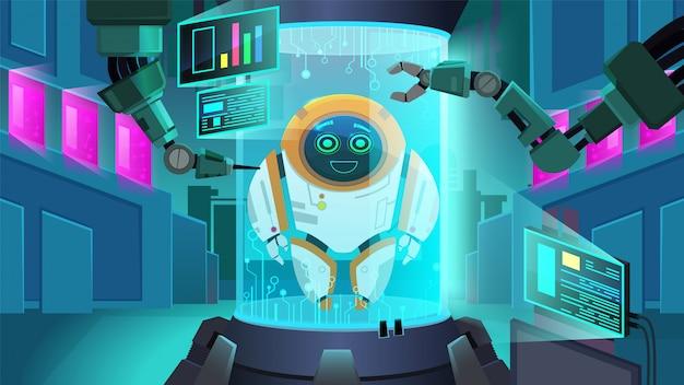 Créer un robot de nouvelle génération
