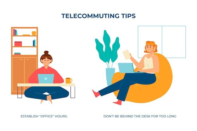 Créez un horaire pour votre maison de travail