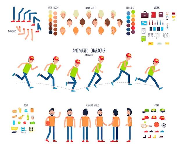 Créez votre propre jeu de caractères coloré