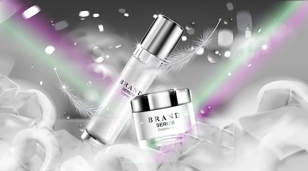 Crème cosmétique de luxe pour le soin de la peau