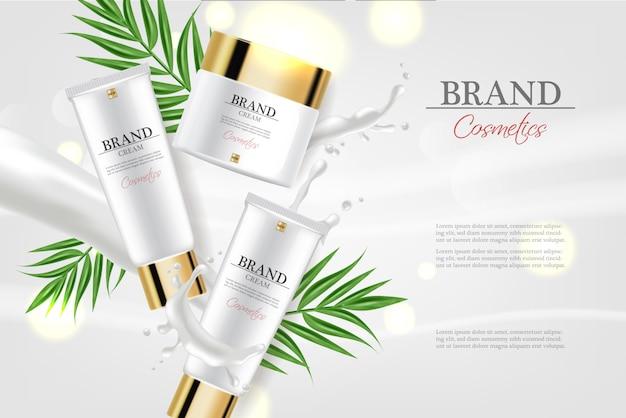 Crème hydratante cosmétiques