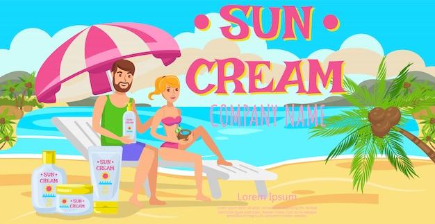 Crème solaire pour toute la famille