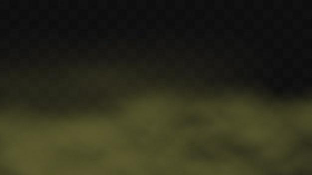 Crépuscule sale réaliste, brouillard nocturne, fond de brouillard de pluie