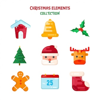 Crhistmas elements collection