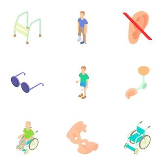 Cripple set, style de bande dessinée