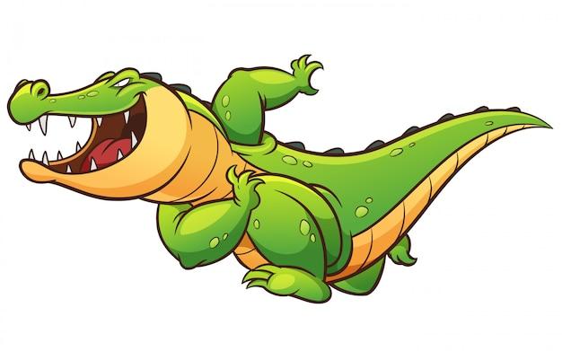 Crocodile de dessin animé