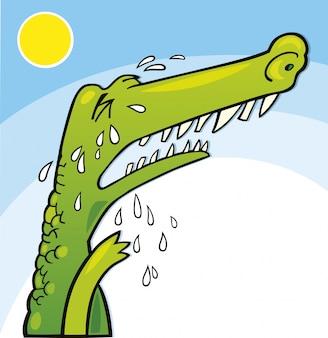 Crocodile qui pleure