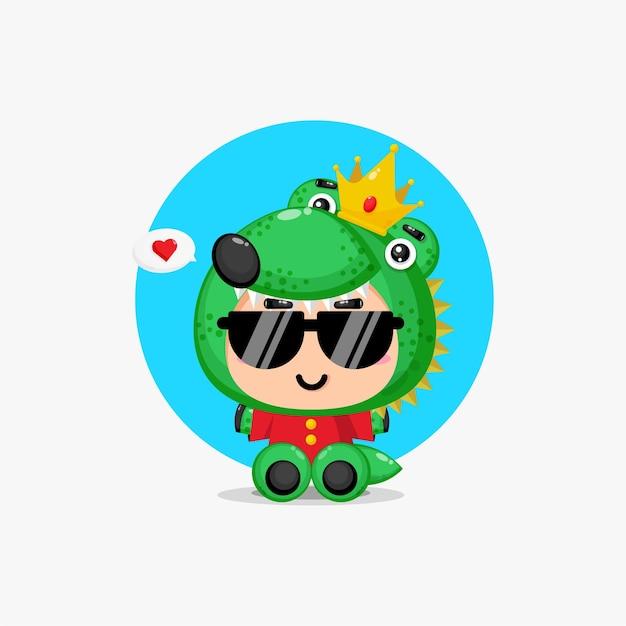 Crocodile roi mignon