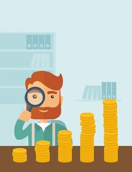 Croissance des affaires dans les aspects financiers.