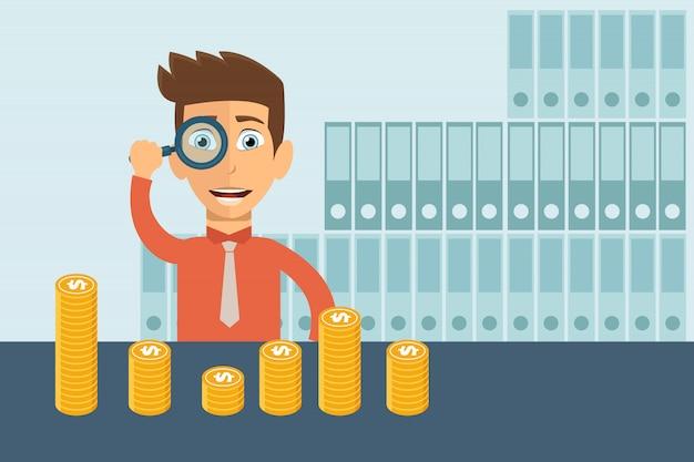 Croissance des affaires dans les aspects financiers