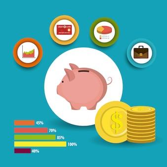 Croissance des affaires et économies