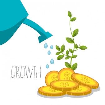 Croissance de l'argent et des bénéfices