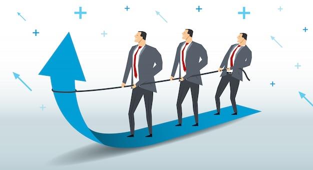 Croissance du concept d'entreprise