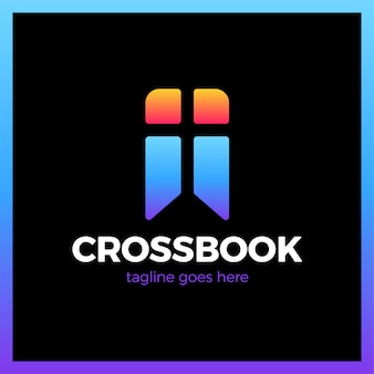 Croix signet église logotype