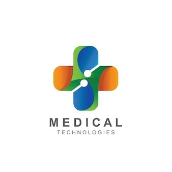 Croix vecteur logo médical