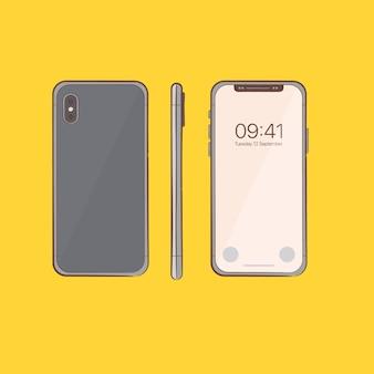 Croquis de smartphone