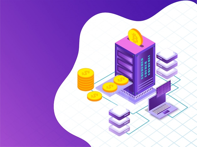 Crypto mining server.