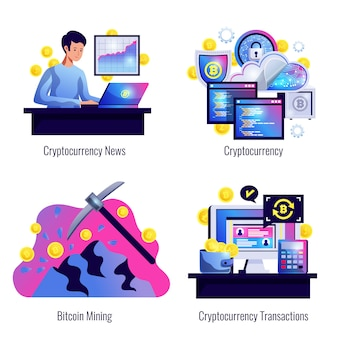 Crypto-monnaie 2x2