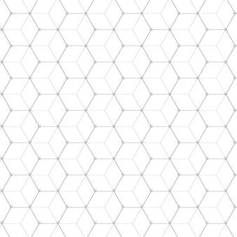 Cube motif de fond