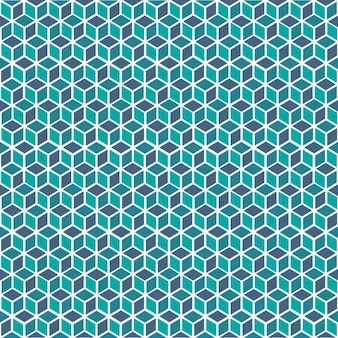 Cubes conception de motif