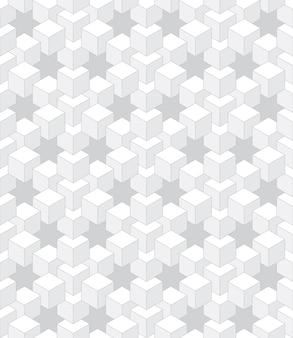 Cubes de lumière abstraite