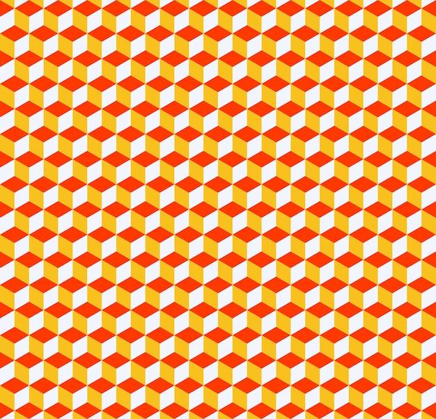 Cubes modèle 3d, fond simple géométrique. illustration de style élégant et luxueux