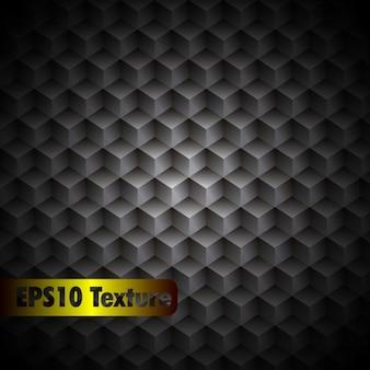 Cubique texture du métal