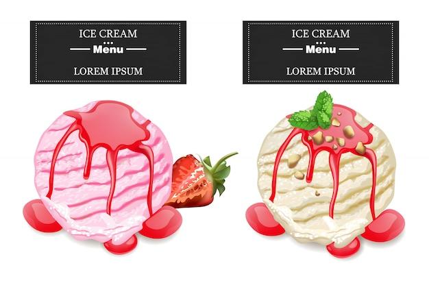 Cuillères à crème glacée