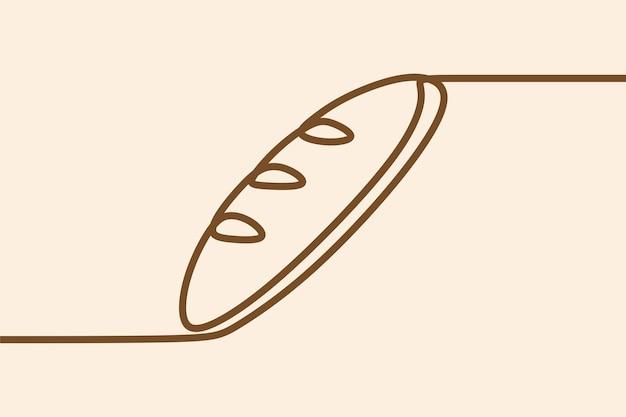 Cuire un dessin au trait continu sur une ligne