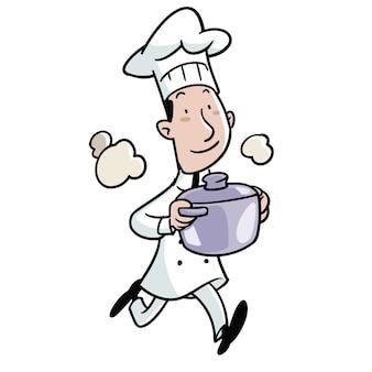Cuiseur avec une casserole