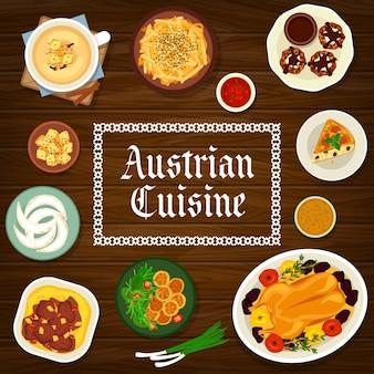 Cuisine autrichienne. plats traditionnels