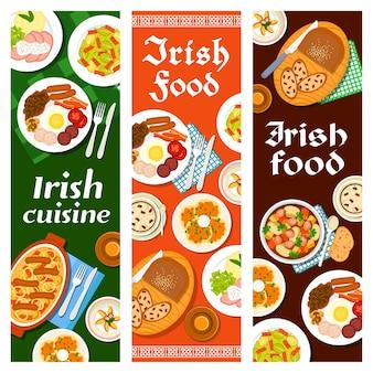 Cuisine irlandaise restaurant menu nourriture déjeuner dublin coddle