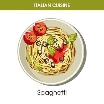 Cuisine de pâtes italienne