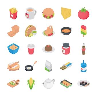 Cuisines icônes plats