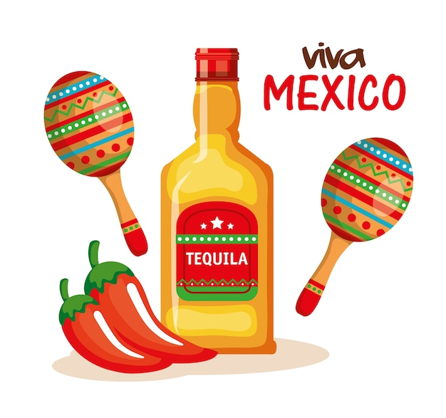 Culture mexicaine définie des icônes