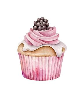 Cupcake aux baies
