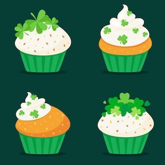 Cupcakes de la saint patrick