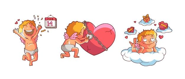 Cupidon saint valentin