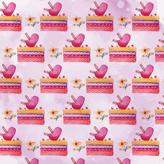 Cute valentine's day pattern