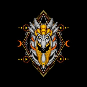 Cyber horus géométrie sacrée