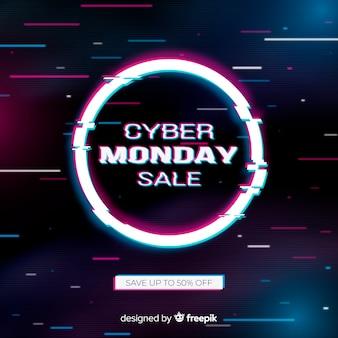 Cyber lundi de pépin coloré