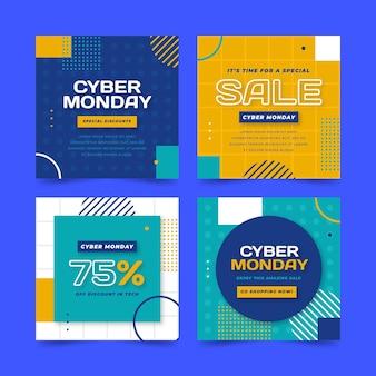 Cyber monday instagram posts