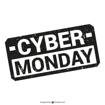 Cyber ​​monday timbre