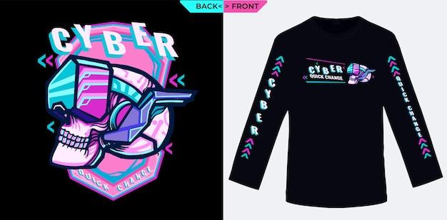 Cyber quickly change adapté à la sérigraphie de chemises à manches longues