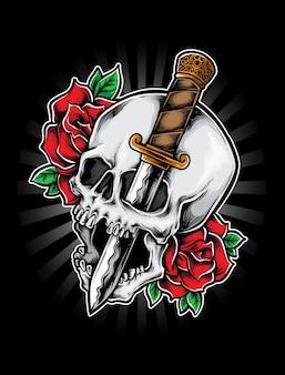 Dague de crâne