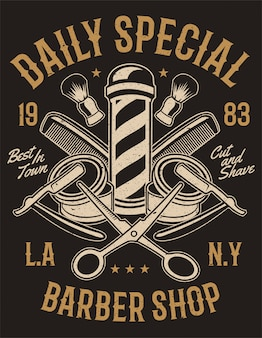 Daily special barber shop