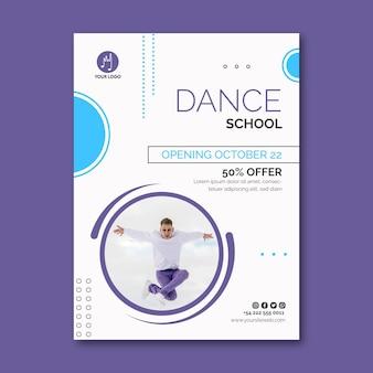 Dancing flyer vertical